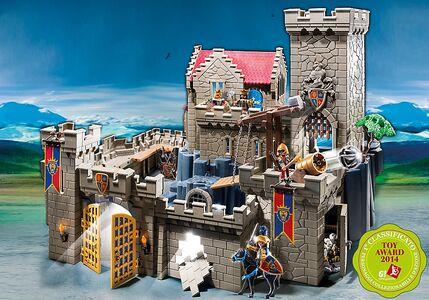 Giocattolo Playmobil Cavalieri. Castello Reale Cavalieri del Leone (6000) Playmobil 1