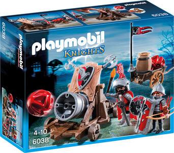 Cannone gigante dei cavalieri del falcone Playmobil (6038) - 2