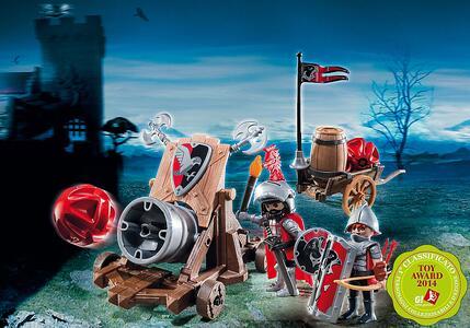 Cannone gigante dei cavalieri del falcone Playmobil (6038) - 3