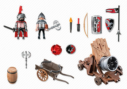 Cannone gigante dei cavalieri del falcone Playmobil (6038) - 4