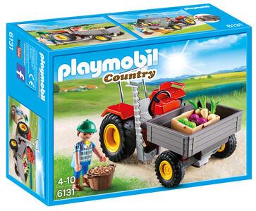 Playmobil Country. Trattore con Cassone (6131) - 2