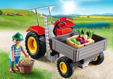 Playmobil Country. Trattore con Cassone (6131) - 4