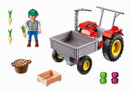 Playmobil Country. Trattore con Cassone (6131) - 5