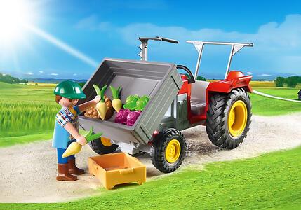 Playmobil Country. Trattore con Cassone (6131) - 6