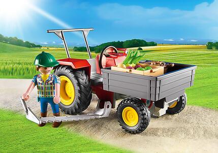 Playmobil Country. Trattore con Cassone (6131) - 7