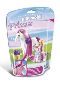 Giocattolo Playmobil. Principessa Rosalie con pony dalla lunga chioma (6166) Playmobil 0