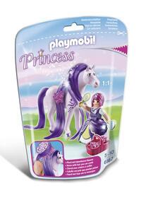Playmobil. Principessa Violetta con pony dalla lunga chioma (6167)