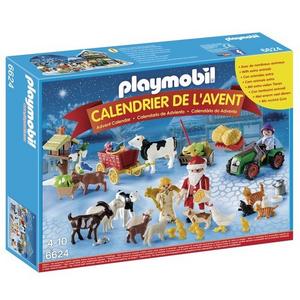 Giocattolo Playmobil Calendario dell'Avvento. Natale nella fattoria (6624) Playmobil 0