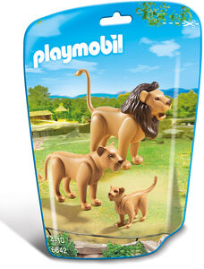 Giocattolo Playmobil Zoo Famiglia di Leoni (6642) Playmobil 0