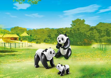 Playmobil Zoo Famiglia di Panda (6652) - 3