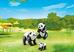 Giocattolo Playmobil Zoo Famiglia di Panda (6652) Playmobil 1
