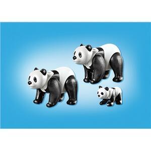 Playmobil Zoo Famiglia di Panda (6652) - 4