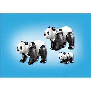 Giocattolo Playmobil Zoo Famiglia di Panda (6652) Playmobil 2