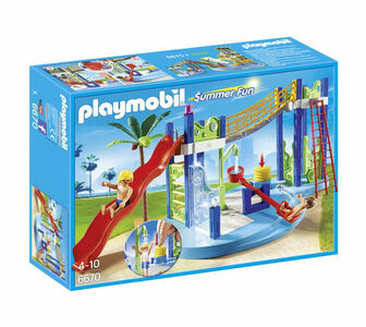 Giocattolo Playmobil Summer Fan. Area gioco con scivoli e doccia (6670) Playmobil 0