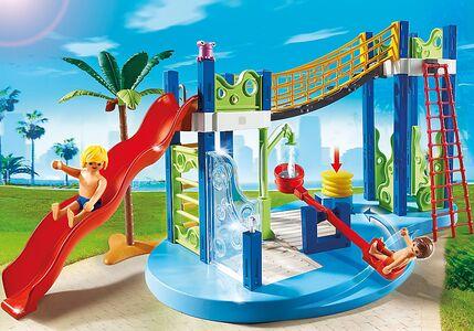 Giocattolo Playmobil Summer Fan. Area gioco con scivoli e doccia (6670) Playmobil 1