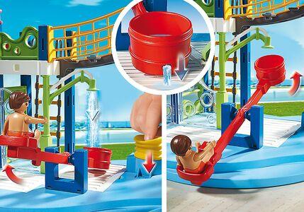 Giocattolo Playmobil Summer Fan. Area gioco con scivoli e doccia (6670) Playmobil 2