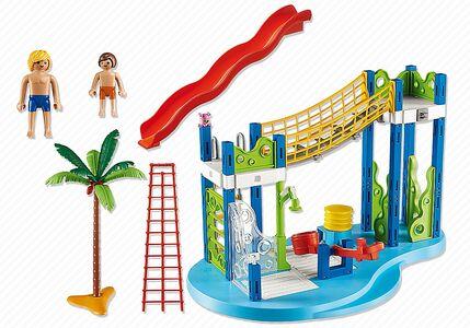 Giocattolo Playmobil Summer Fan. Area gioco con scivoli e doccia (6670) Playmobil 5