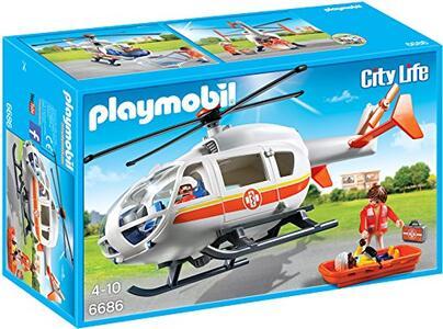 Playmobil City Life. Elisoccorso (6686) - 5