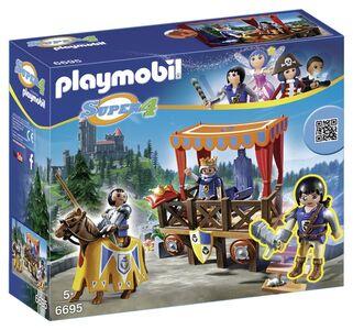 Giocattolo Playmobil Super 4. Tribuna Reale con Alex (6695) Playmobil 0