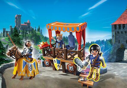 Giocattolo Playmobil Super 4. Tribuna Reale con Alex (6695) Playmobil 1