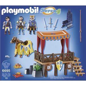Giocattolo Playmobil Super 4. Tribuna Reale con Alex (6695) Playmobil 2