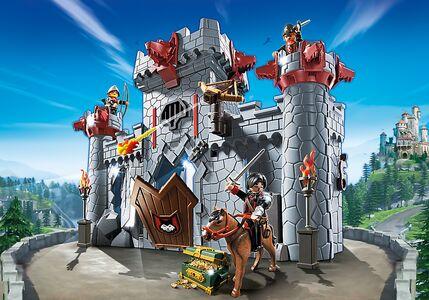 Giocattolo Playmobil Super 4. Castello Portatile del Barone Nero (6697) Playmobil 1