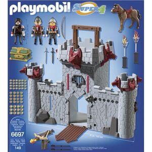 Giocattolo Playmobil Super 4. Castello Portatile del Barone Nero (6697) Playmobil 2