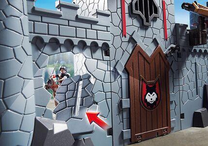 Giocattolo Playmobil Super 4. Castello Portatile del Barone Nero (6697) Playmobil 3
