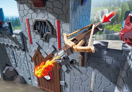 Giocattolo Playmobil Super 4. Castello Portatile del Barone Nero (6697) Playmobil 4