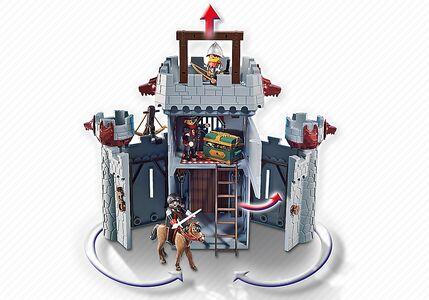 Giocattolo Playmobil Super 4. Castello Portatile del Barone Nero (6697) Playmobil 5