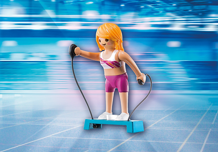 Giocattolo Playmobil Lady Fitness (6827) Playmobil 1