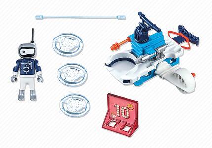 playmobil ice robot con space jet lanciadischi 6833 playmobil