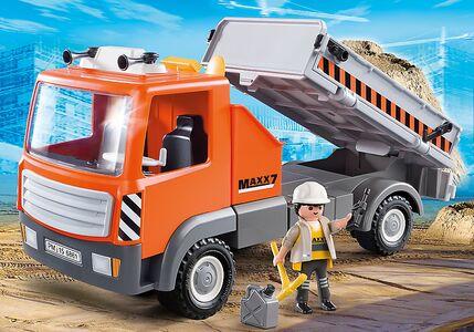 Giocattolo Playmobil Camion con Cassone Ribaltabile (6861) Playmobil 1
