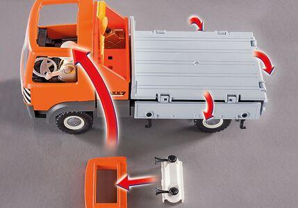 Giocattolo Playmobil Camion con Cassone Ribaltabile (6861) Playmobil 3