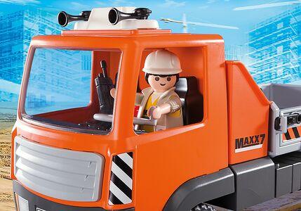 Giocattolo Playmobil Camion con Cassone Ribaltabile (6861) Playmobil 4