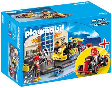 Playmobil Starter Sets Go Kart Race Team (6869) - 2
