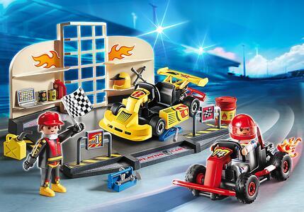Playmobil Starter Sets Go Kart Race Team (6869) - 4
