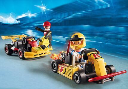 Playmobil Starter Sets Go Kart Race Team (6869) - 5