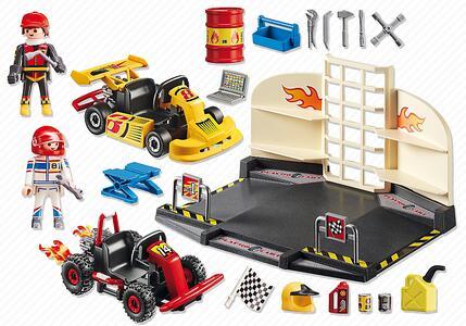 Playmobil Starter Sets Go Kart Race Team (6869) - 7