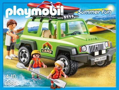 Giocattolo Playmobil Escursione Con Jeep E Canoa Playmobil