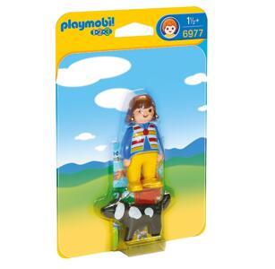 Playmobil 1-2-3. Contadino con Mucca (6972)