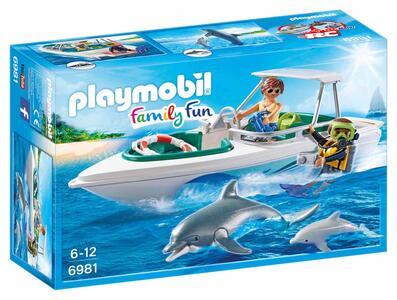 Playmobil Sub Con Motoscafo E Delfini - 4