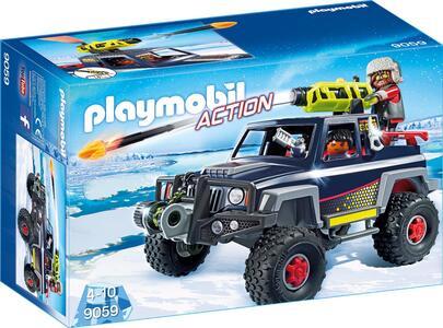 Playmobil Predatori Con Mezzo D'Assalto
