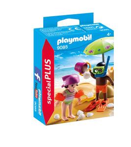 Playmobil Special Plus. Bambini In Spiaggia