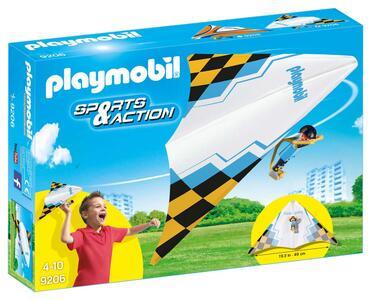 Playmobil Sport E Azione. Deltaplano Bianco con Pilota - 2