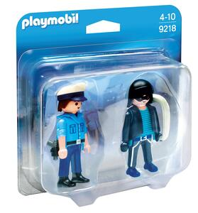Playmobil Duo Pack. Poliziotto E Ladro