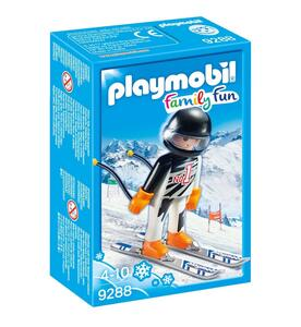 Playmobil 9288. Family Fun. Sciatore - 7