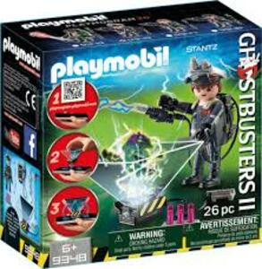 Playmobil 9348. Ghostbuster. Raymond Stantz - 6