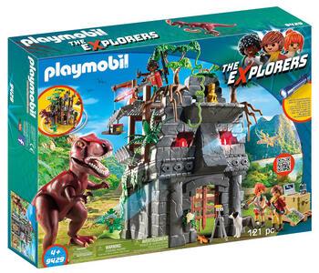 Playmobil 9429. Dinos Explorer. Campo Base E T-Rex