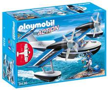Limited Edition. Playmobil 9436 Action Idrovolante Della Polizia